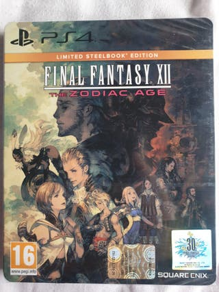 Precintado: Final Fantasy XII Limited - Limitada