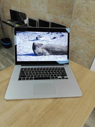 """Macbook i7 15"""" 16GB y ssd 2015"""