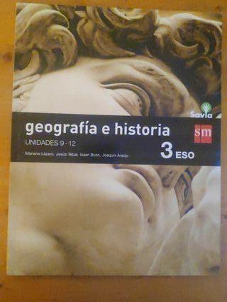 Geografía e Historia, 3° Eso, SM