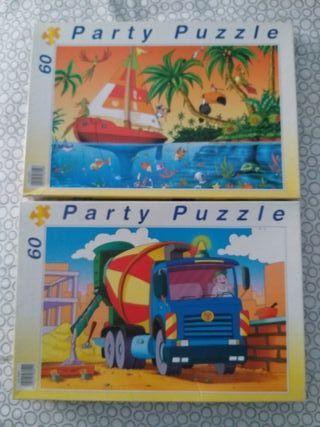 Dos puzles infantiles