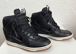 Botines de Tacón alto Nike Dunk High 38