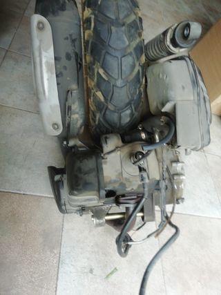 motor completo yamaha bw 50cc