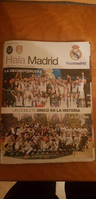 Revistas oficiales Real Madrid. Coleccionismo