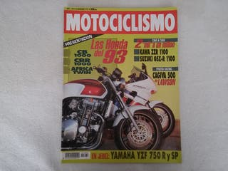 Honda CB, Aprilia Twin CBR Motociclismo nº 1292