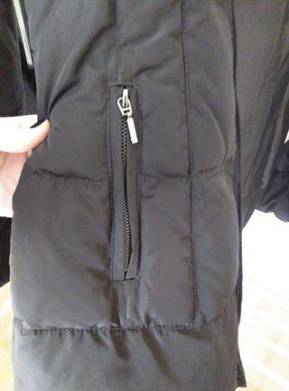 abrigo plumífero