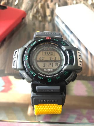 Reloj Casio Protek prt40 impecable