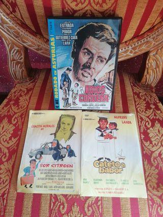 NUEVAS Películas DVD pack de 3 cine español