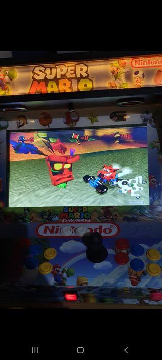 maquina arcade recreativa