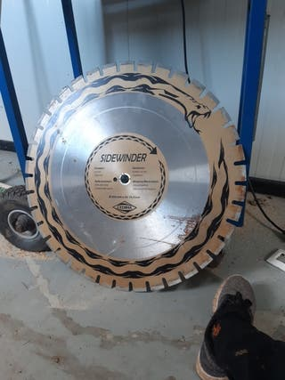 vendo disco diamente 650mm
