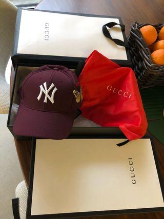 Gorra de Gucci Béisbol New York Yankees