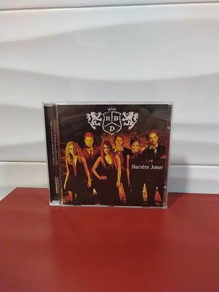 cd REBELDE RBD ( NUESTRO AMOR)