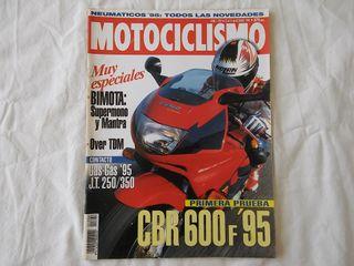 Honda CBR 600 F Motociclismo nº 1392