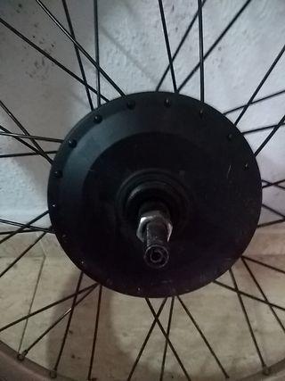 """MOTOR BICICLETA ELECTRICA CON RUEDA 20"""""""