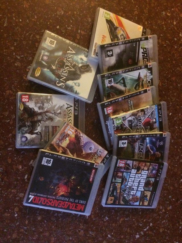 Juegos play 3 12 juegos + play 3
