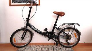 Bicicleta plegable Nordic First Class