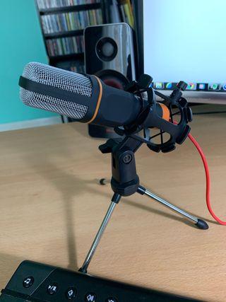 Micrófono de estudio-escritorio para irdenador