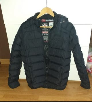 Chaqueta hombre negra Geoghrafical Norway