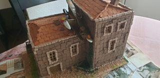 Diorama guerra civil España 1/72