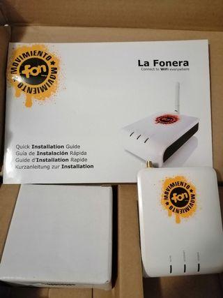 La Fonera Wifi Modelo FON2200 sin Hilo