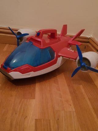 avión patrulla canina