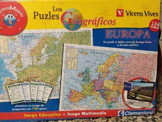 puzzle Europa sin estrenar