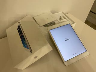 iPad mini 2 retina128 GB con 4g blanco impoluto