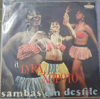 a lyra de Xopoto - sambas em desfile