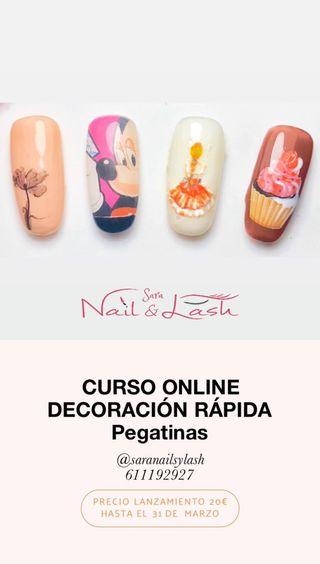 CURSO UÑAS ONLINE DECORACIÓN RÁPIDA