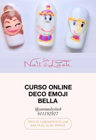 CURSO UÑAS ONLINE DECO EMOJI