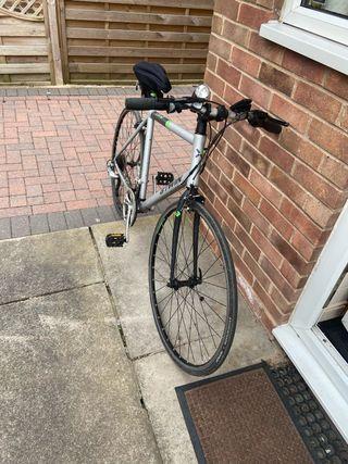 B-Twin Mountain Bicycle