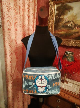 mochila bandolera NUEVA Dorarmon azul 30x25
