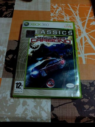 Need for Speed Carbono xbox 360
