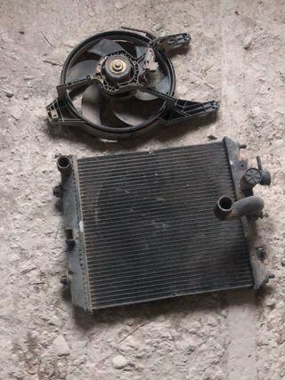 Radiador Nissan micra 1.3 16v