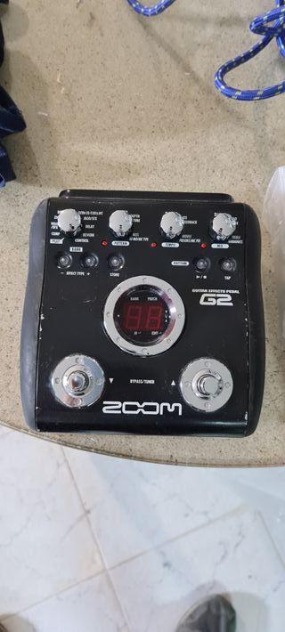 Pedal multiefectos para guitarra eléctrica