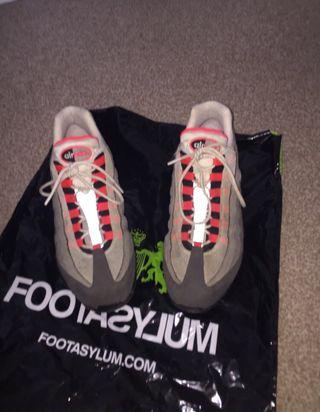 Nike 95's: OG mint grey size: 11uk