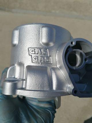 Honda cr 250, gasgas tratamientos vapor blasting