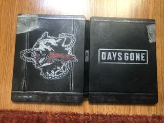 DAYS GONE STEELBOOK - PS4