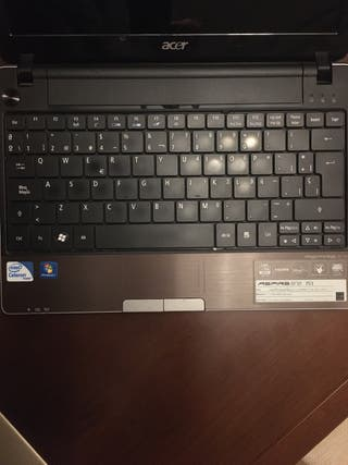 Portátil Acer Aspire one 753 series