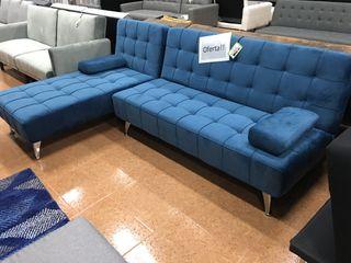 Sofá-cama chaise-longue reversible *240cm ARROW