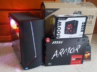 ORDENADOR GAMER I5 8GB/SSD480/RX580 8GB