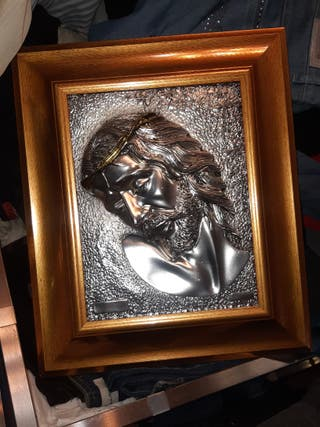cuadro de Jesús torturado