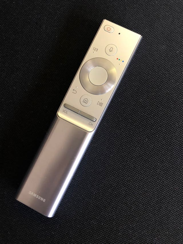 Mando a distancia Tv Samsung Plata