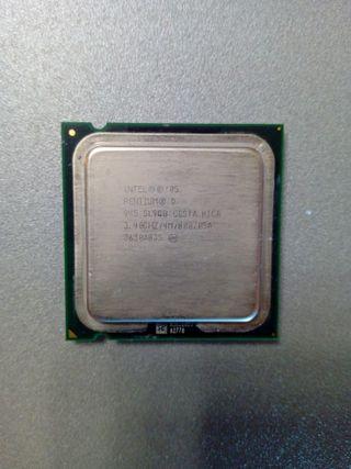 pentium D945 3.4/4mb/800 socket 775