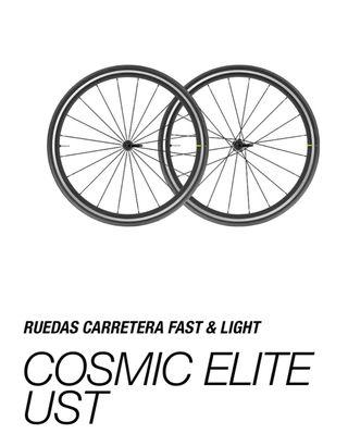Ruedas carretera Cosmic Elite UST
