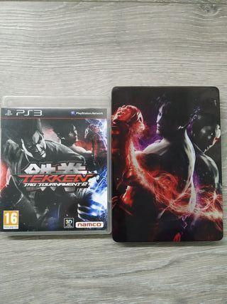 Tekken tag tournament 2 Steelbook PS3