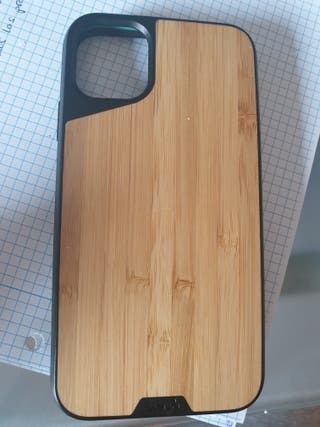 funda de bambú iphone 11