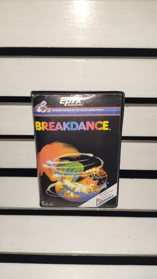 videojuego breakdance commodore 64