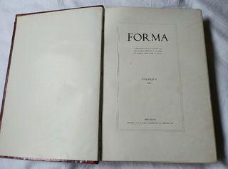 FORMA: PUBLICACION ILUSTRADA DE ARTE