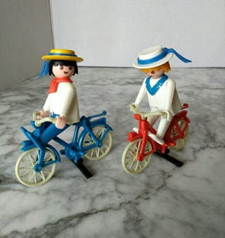 Playmobil Ciclistas Geobra 1974
