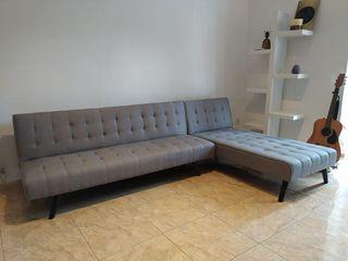 Sofá-cama chaise-longue, NUEVO, OFERTA